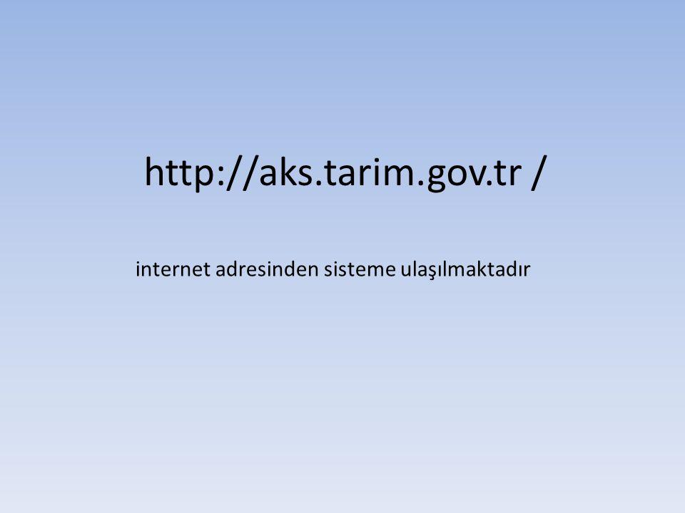 http://aks.tarim.gov.tr /