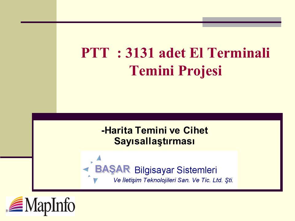PTT : 3131 adet El Terminali Temini Projesi
