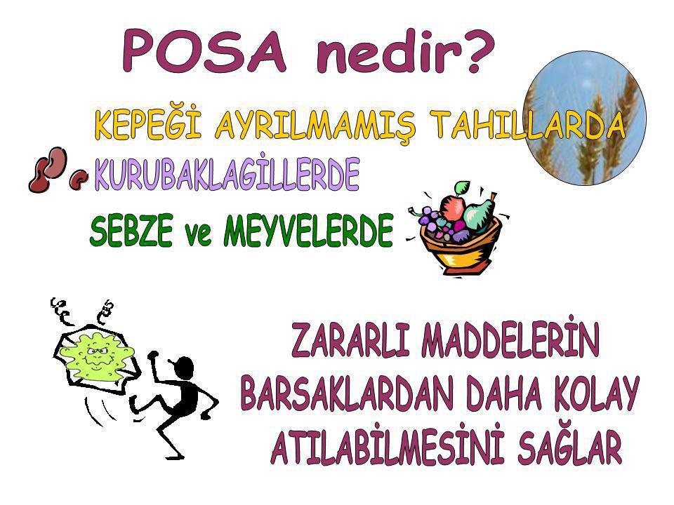 KEPEĞİ AYRILMAMIŞ TAHILLARDA