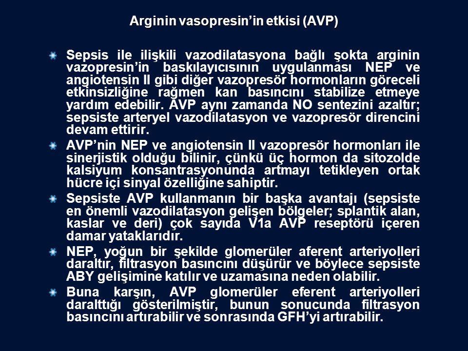 Arginin vasopresin'in etkisi (AVP)