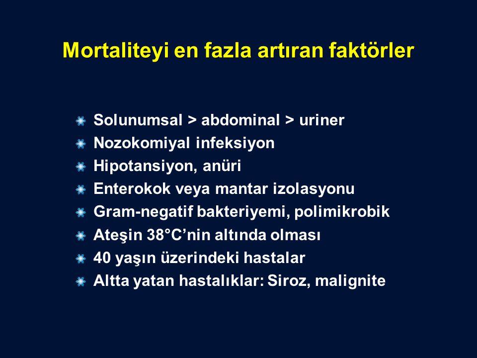 Mortaliteyi en fazla artıran faktörler