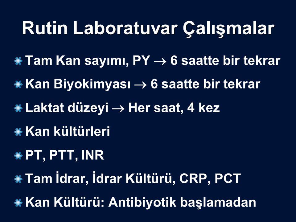 Rutin Laboratuvar Çalışmalar