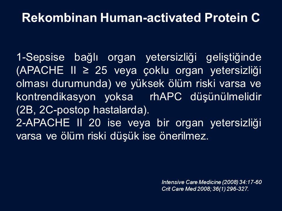 Rekombinan Human-activated Protein C