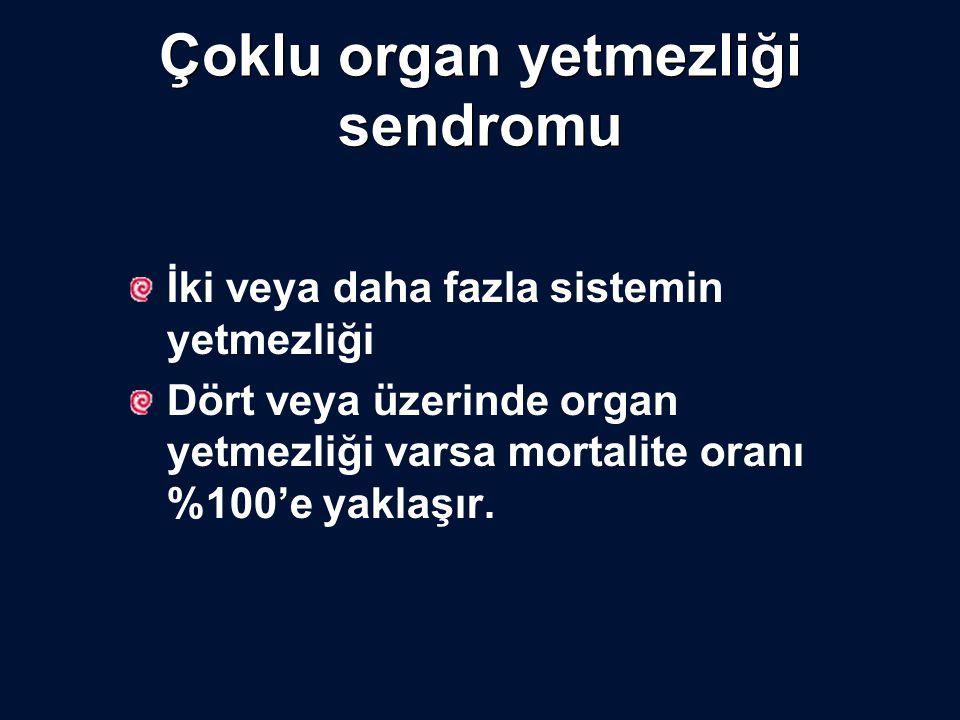 Çoklu organ yetmezliği sendromu