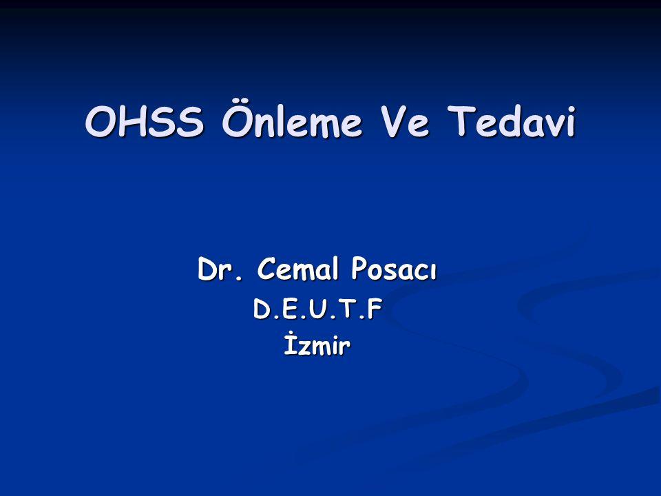 Dr. Cemal Posacı D.E.U.T.F İzmir