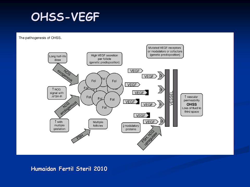 OHSS-VEGF Humaidan Fertil Steril 2010