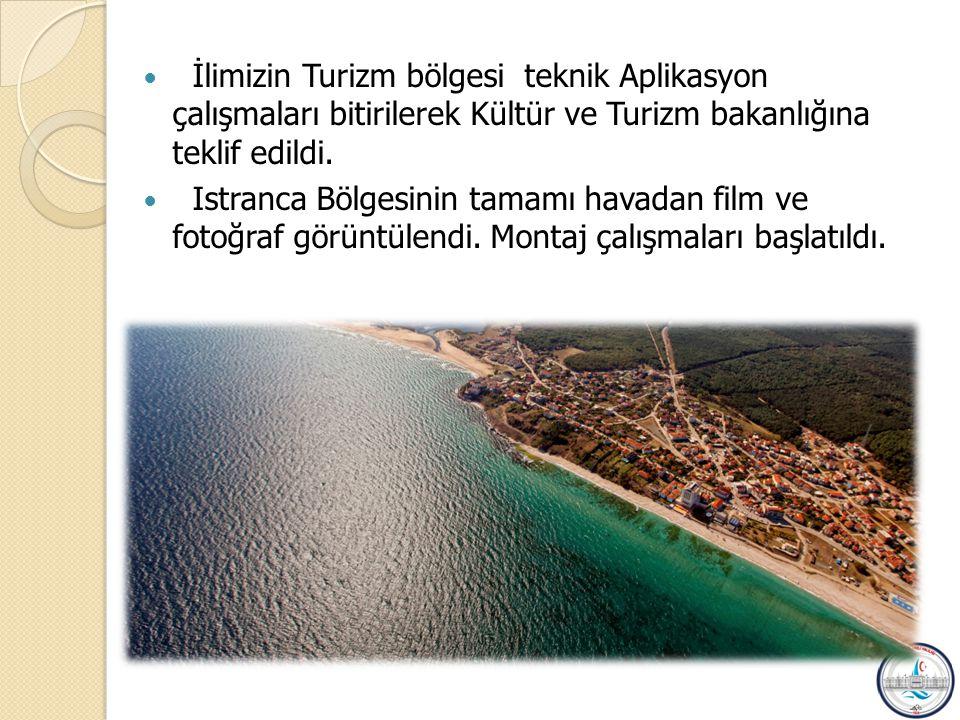 İlimizin Turizm bölgesi teknik Aplikasyon çalışmaları bitirilerek Kültür ve Turizm bakanlığına teklif edildi.