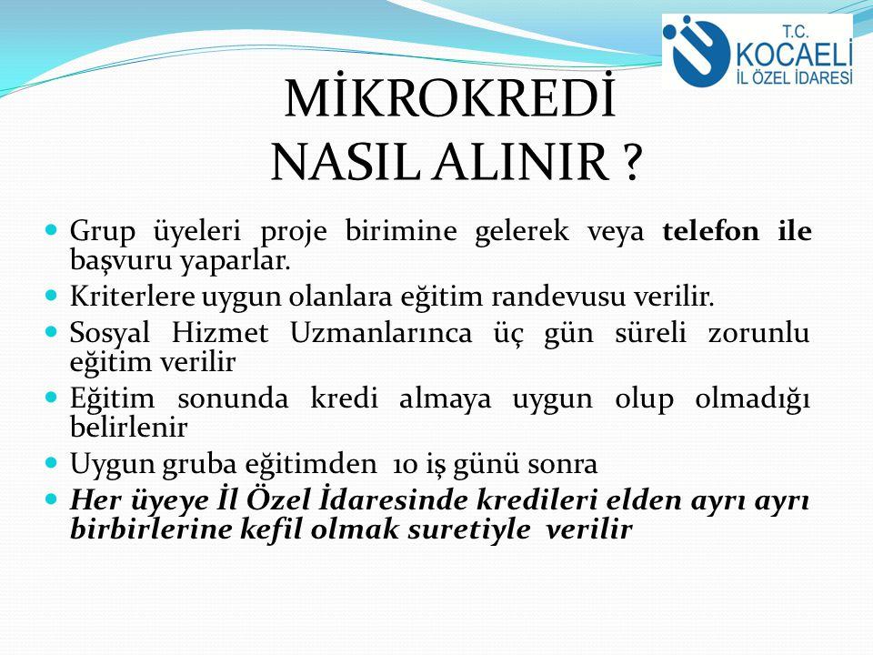 MİKROKREDİ NASIL ALINIR