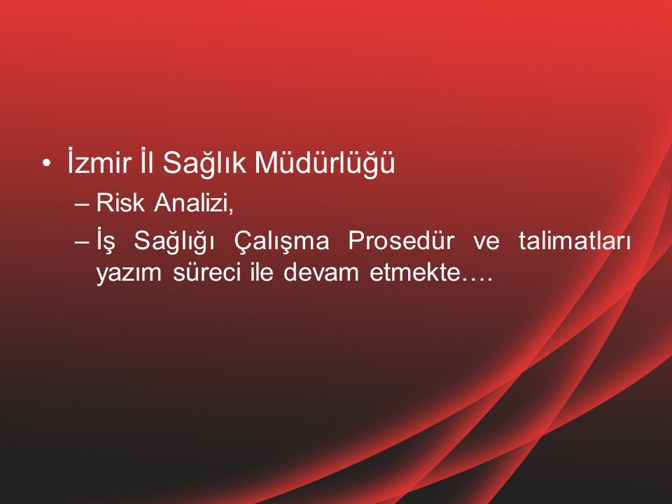 İzmir İl Sağlık Müdürlüğü