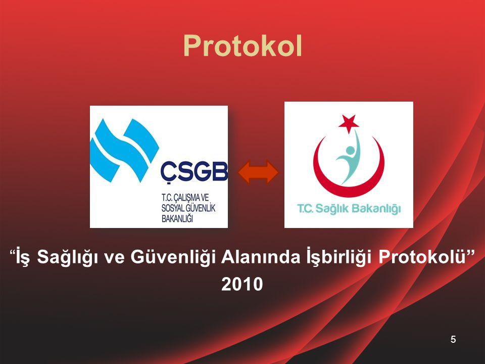 İş Sağlığı ve Güvenliği Alanında İşbirliği Protokolü 2010