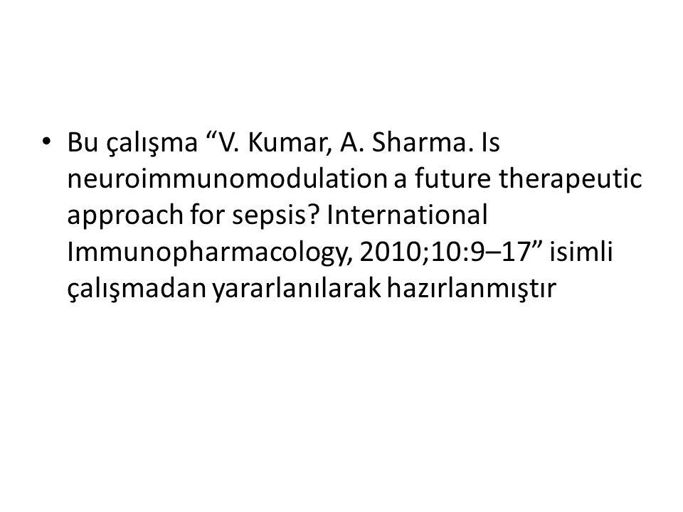 Bu çalışma V. Kumar, A. Sharma