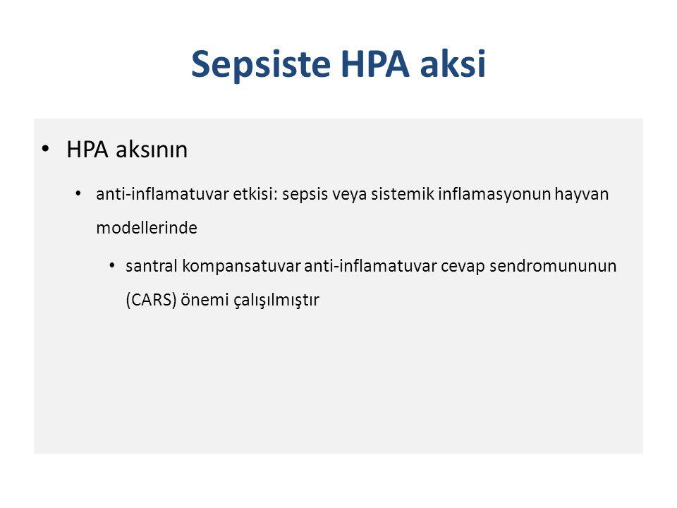 Sepsiste HPA aksi HPA aksının