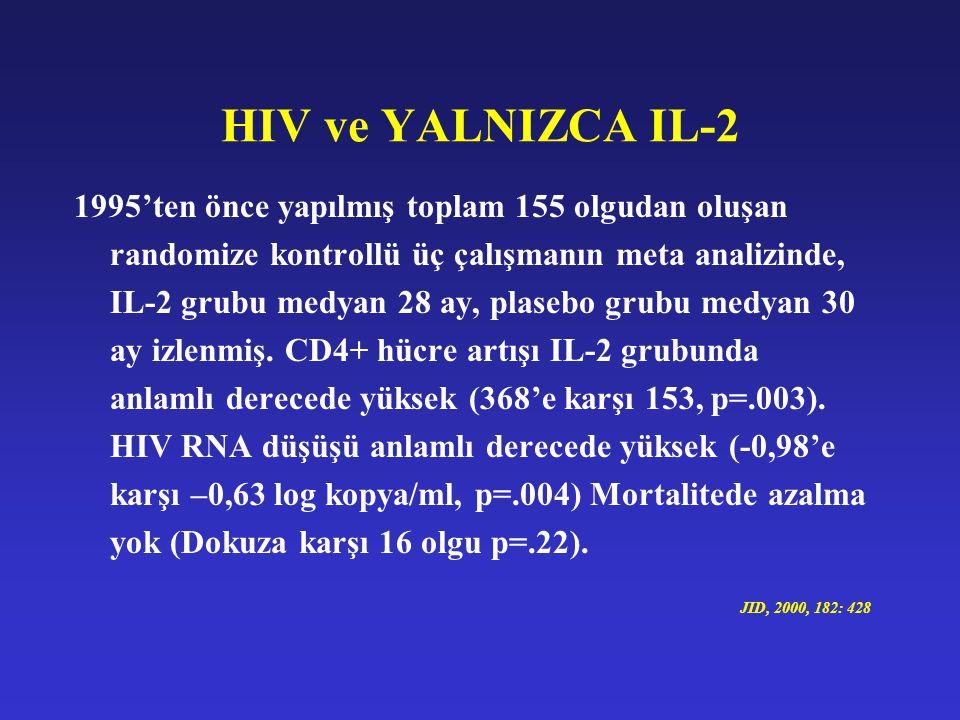 HIV ve YALNIZCA IL-2
