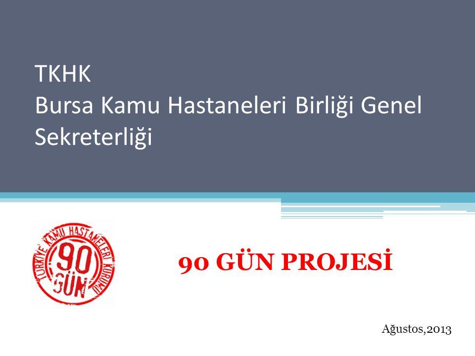 TKHK Bursa Kamu Hastaneleri Birliği Genel Sekreterliği