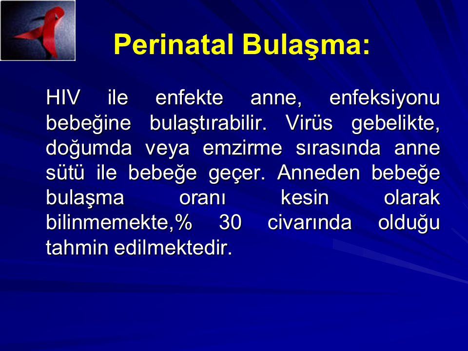 Perinatal Bulaşma:
