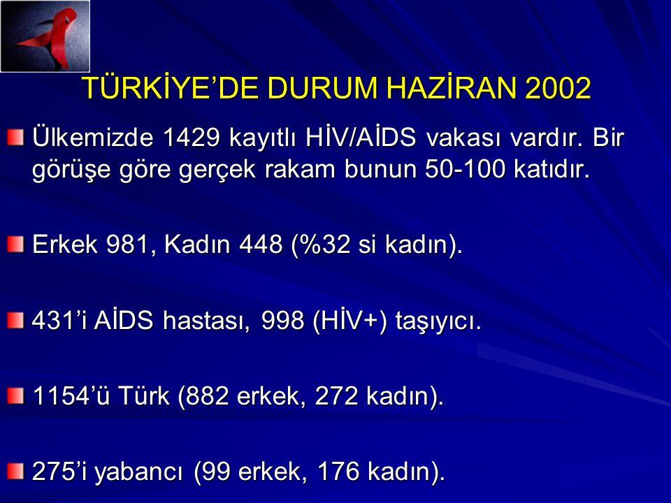 TÜRKİYE'DE DURUM HAZİRAN 2002