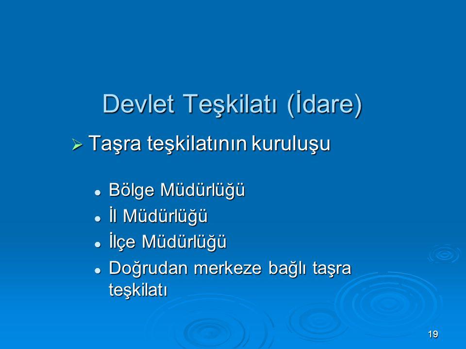 Devlet Teşkilatı (İdare)