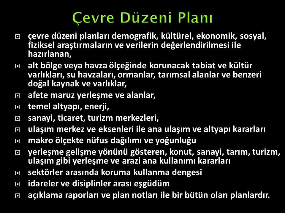 Çevre Düzeni Planı
