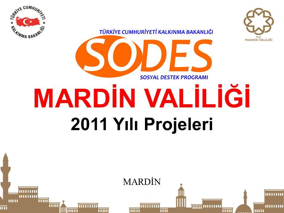MARDİN VALİLİĞİ 2011 Yılı Projeleri MARDİN