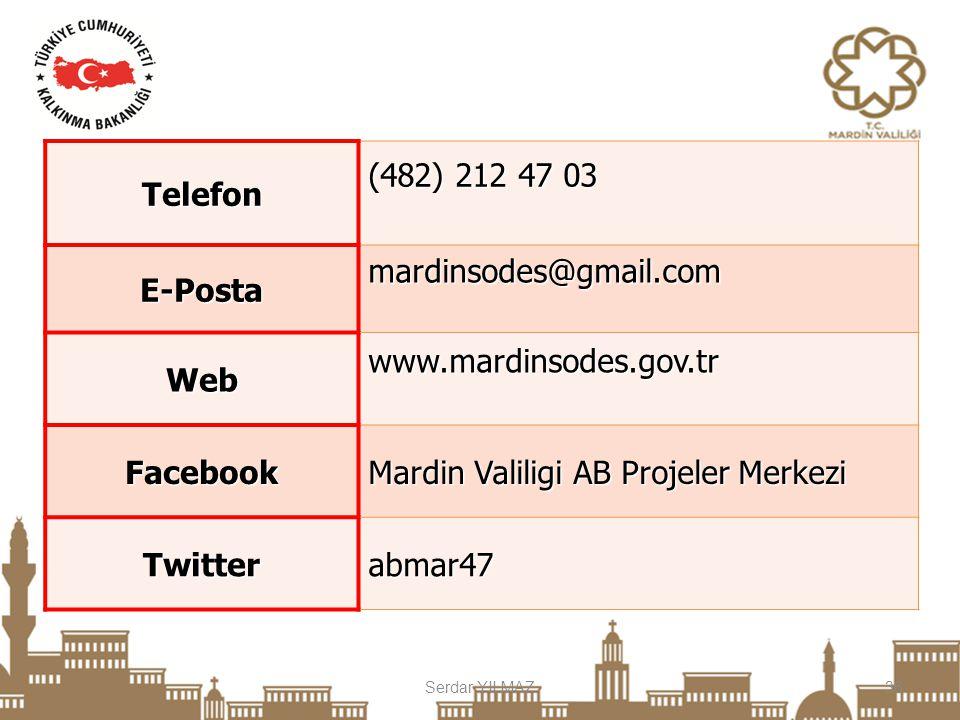 Telefon E-Posta Web Facebook Twitter