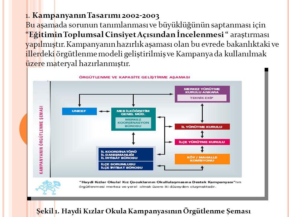1. Kampanyanın Tasarımı 2002-2003