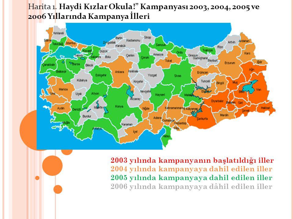 Harita 1. Haydi Kızlar Okula