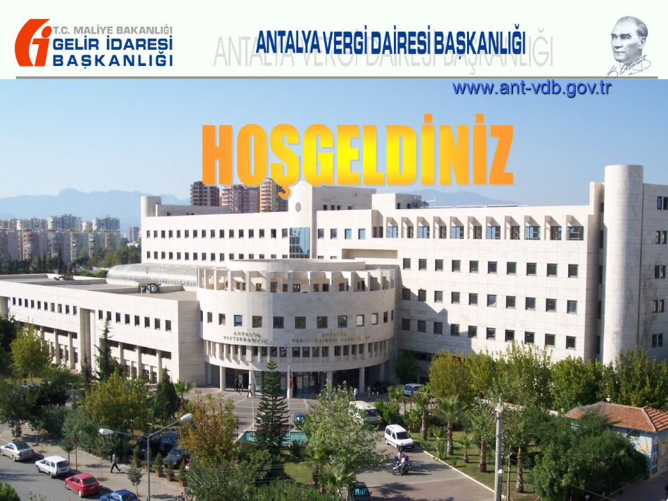 www.ant-vdb.gov.tr HOŞGELDİNİZ