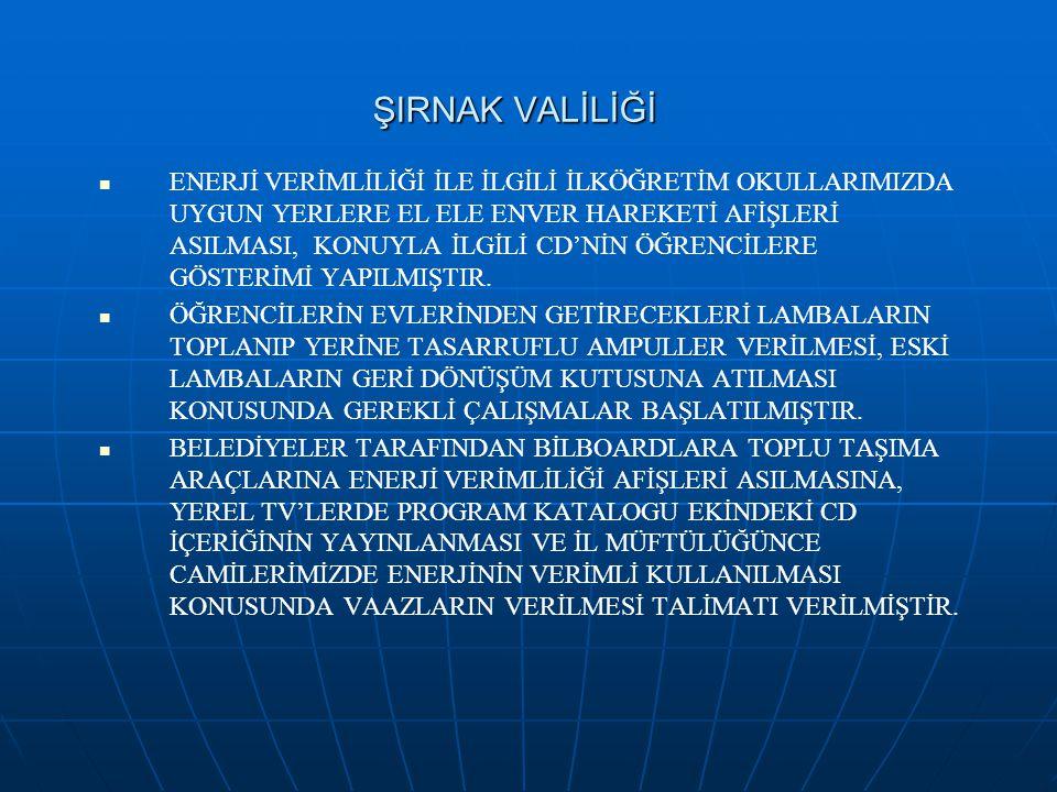 ŞIRNAK VALİLİĞİ