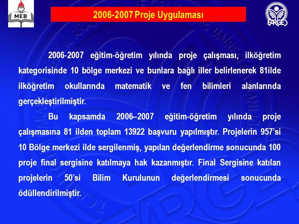 2006-2007 Proje Uygulaması
