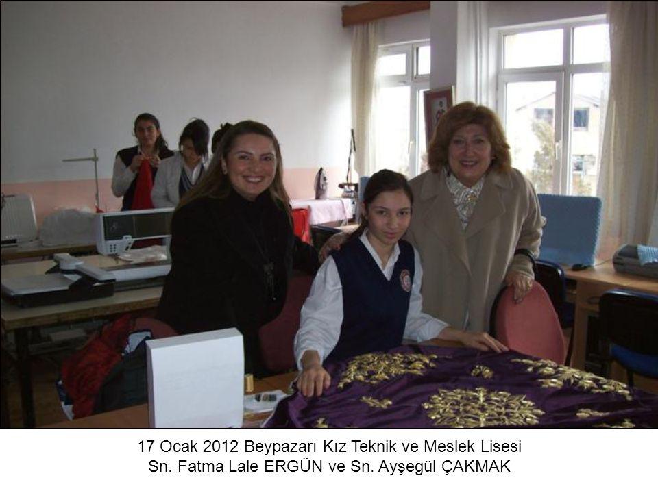 17 Ocak 2012 Beypazarı Kız Teknik ve Meslek Lisesi