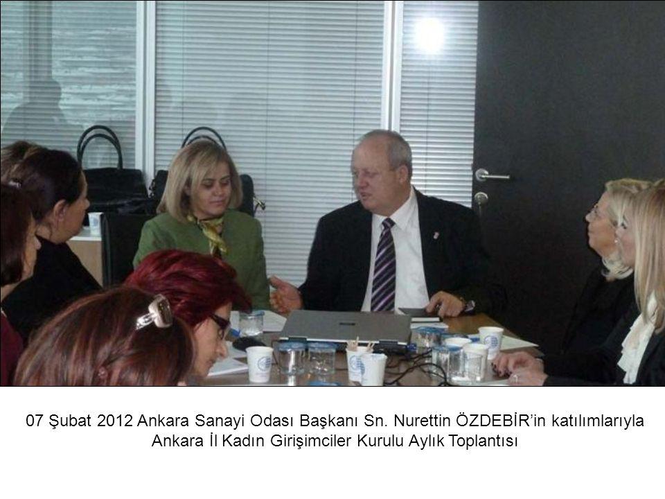 Ankara İl Kadın Girişimciler Kurulu Aylık Toplantısı