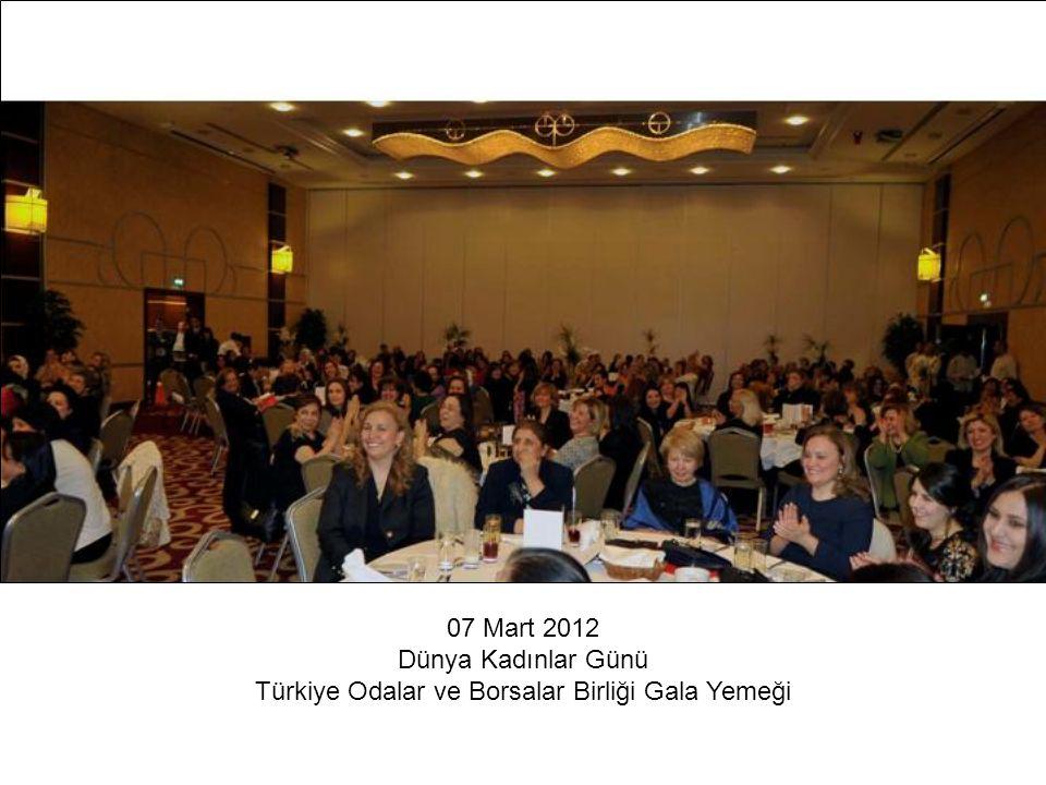Türkiye Odalar ve Borsalar Birliği Gala Yemeği