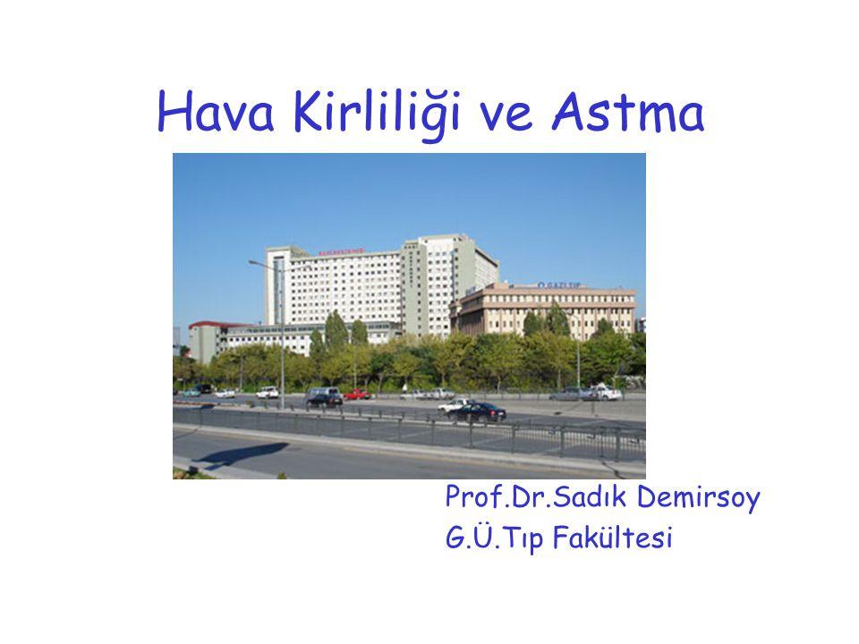 Hava Kirliliği ve Astma