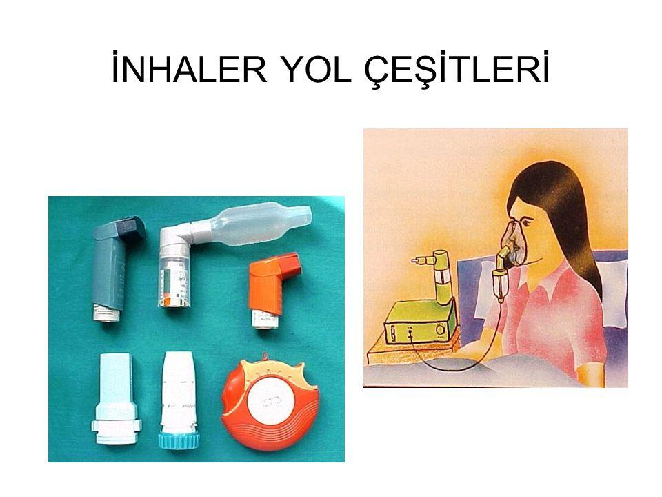 İNHALER YOL ÇEŞİTLERİ