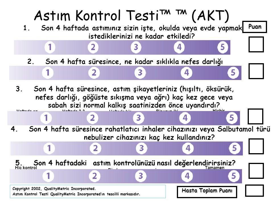 Astım Kontrol Testi™ ™ (AKT)