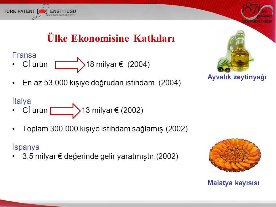 Ülke Ekonomisine Katkıları