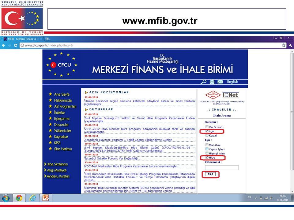 www.mfib.gov.tr 66