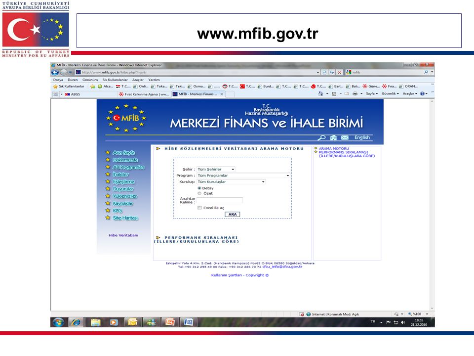 www.mfib.gov.tr 67