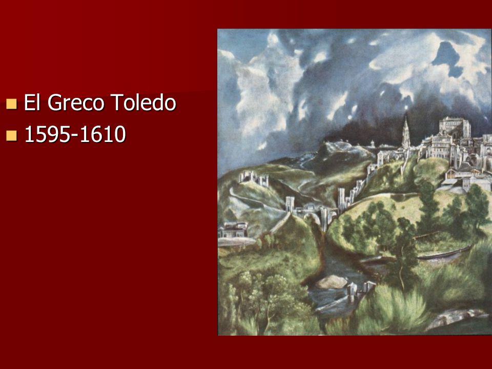 El Greco Toledo 1595-1610