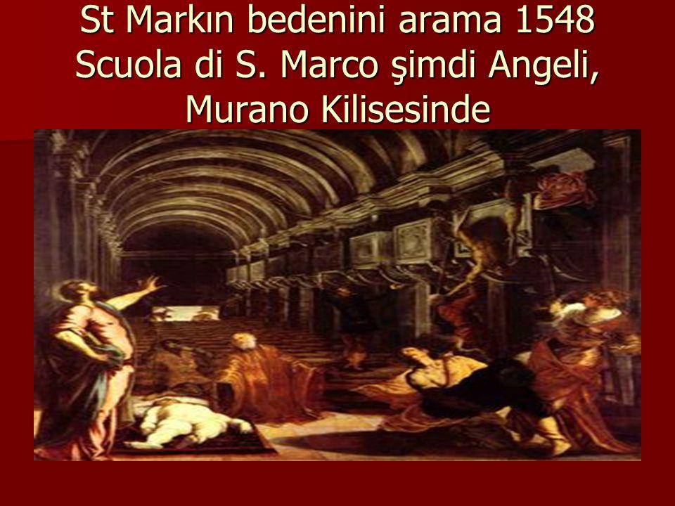 St Markın bedenini arama 1548 Scuola di S