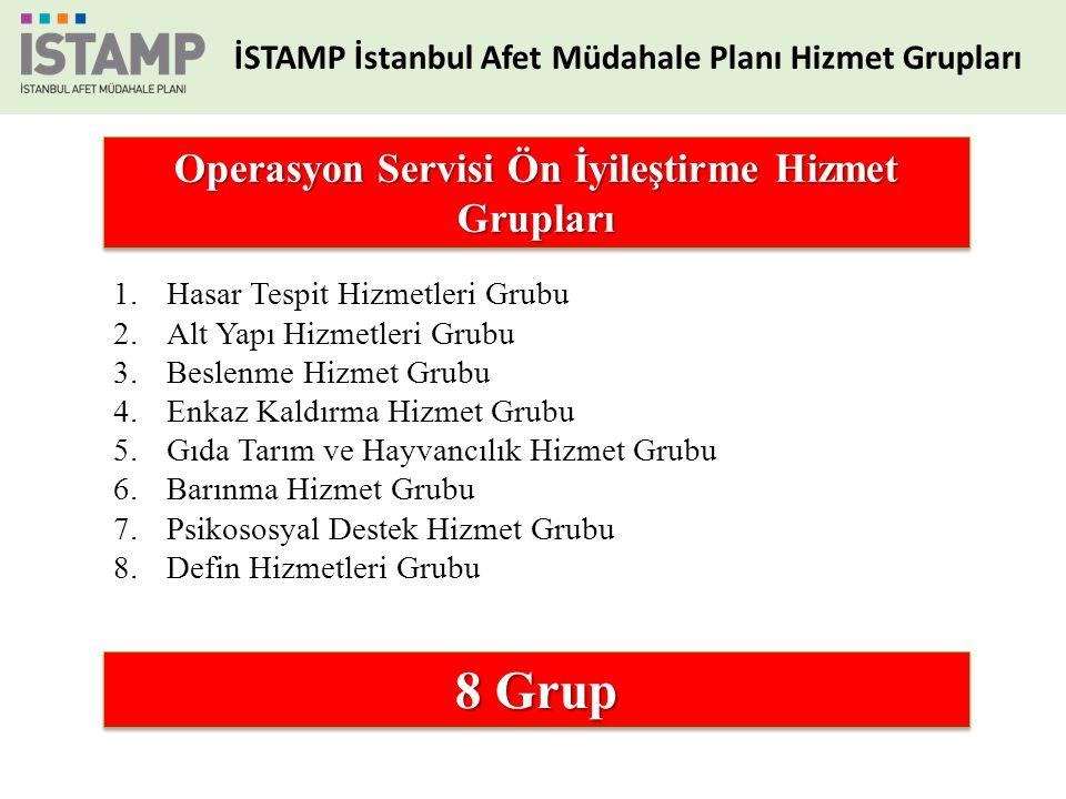 8 Grup Operasyon Servisi Ön İyileştirme Hizmet Grupları