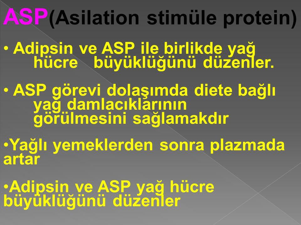 ASP(Asilation stimüle protein)