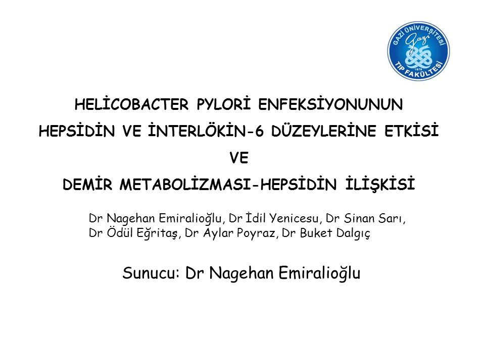 Sunucu: Dr Nagehan Emiralioğlu