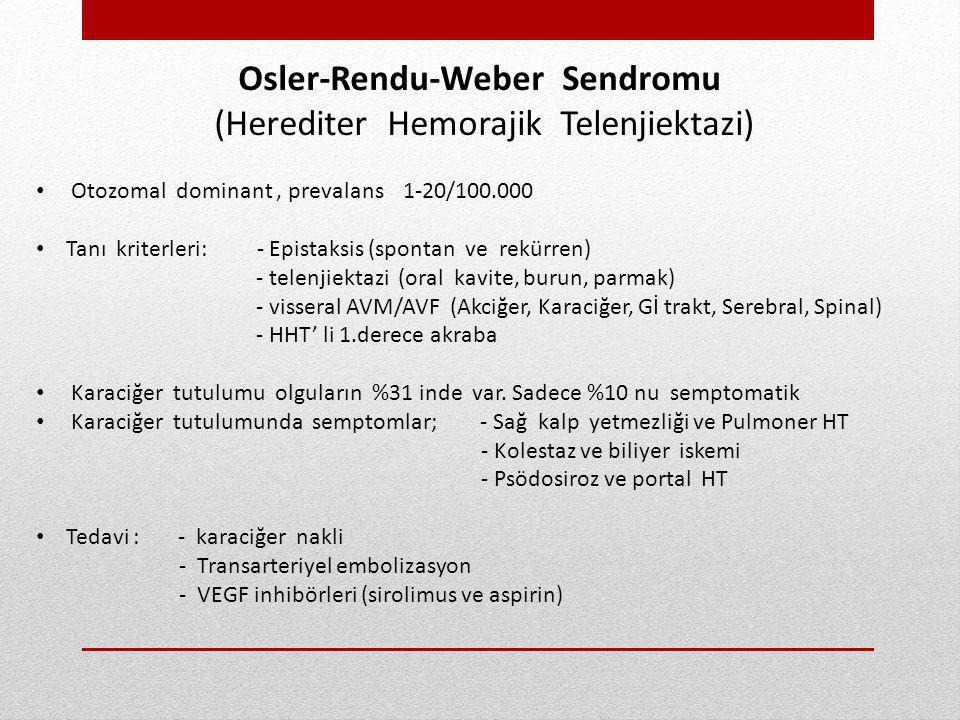 Osler-Rendu-Weber Sendromu