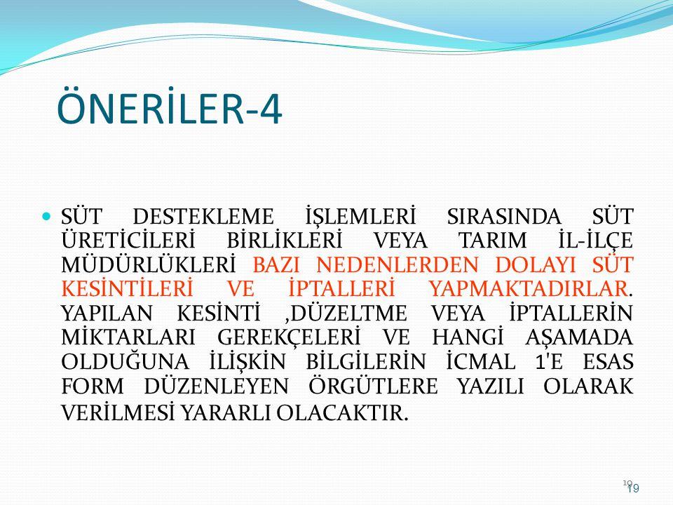 ÖNERİLER-4