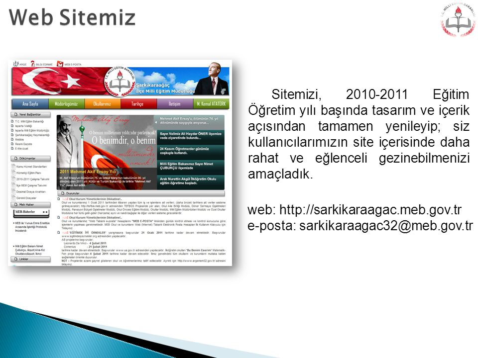 Web Sitemiz