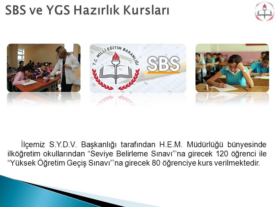 SBS ve YGS Hazırlık Kursları