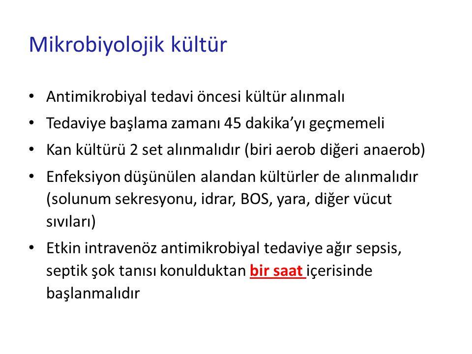 Mikrobiyolojik kültür