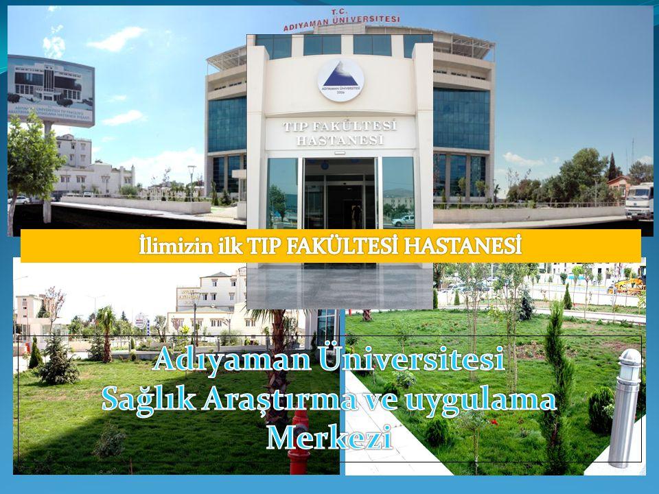 Adıyaman Üniversitesi Sağlık Araştırma ve uygulama