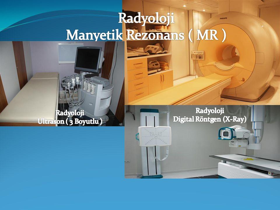 Radyoloji Manyetik Rezonans ( MR )